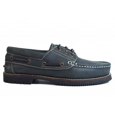 Zapatos Línea Apache Cordón Azul