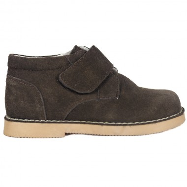 Botas Safari Coffee Velcro