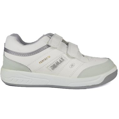 Zapatillas Demax Blanco Velcro