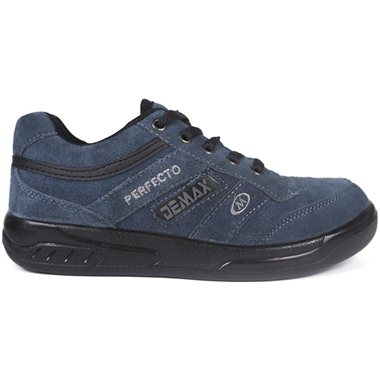 Zapatillas Demax Gris Cordones