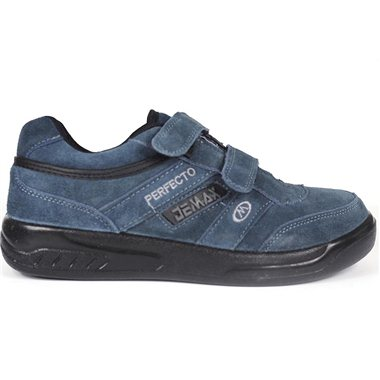 Zapatillas Demax Gris Velcro