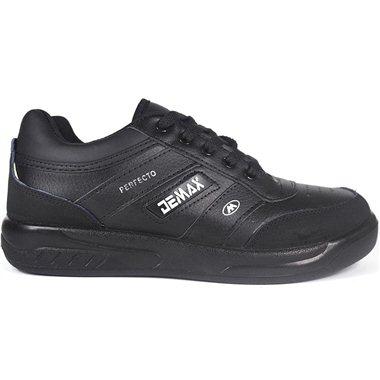 Zapatillas Demax Negro Cordones