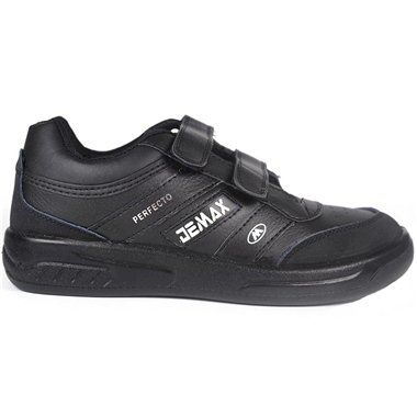 Zapatillas Demax Negro Velcro
