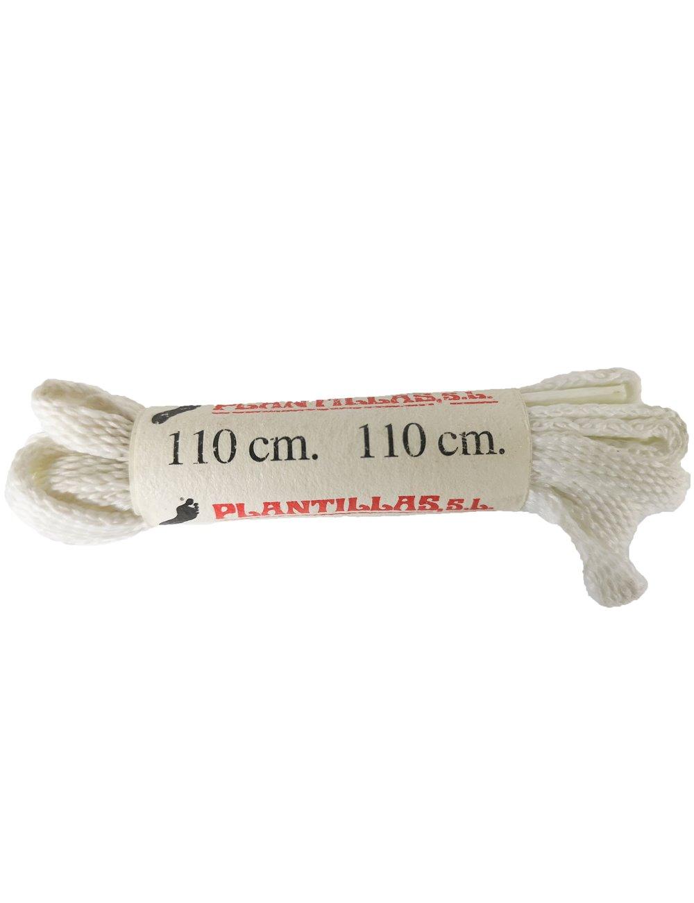 Cordones deportivos blancos 110cm