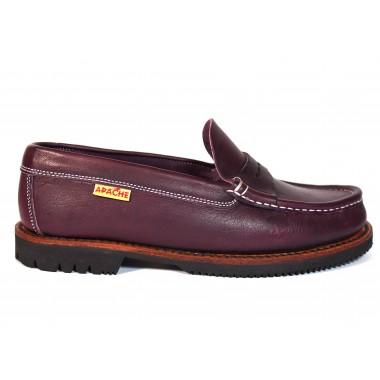 Zapatos Apache 411 Burdeos