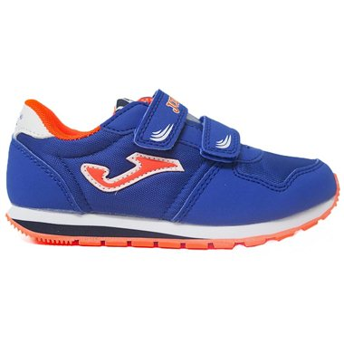 Zapatillas Joma 201 Jr 2004 Royal-Naranja
