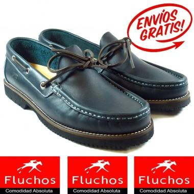 Zapatos Náuticos Fluchos 156 Marino