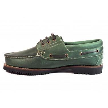 Zapatos Línea Apache Cordón Verde