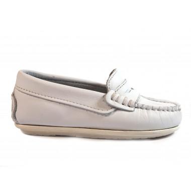 Zapatos Niños La Valenciana 1017 Blanco