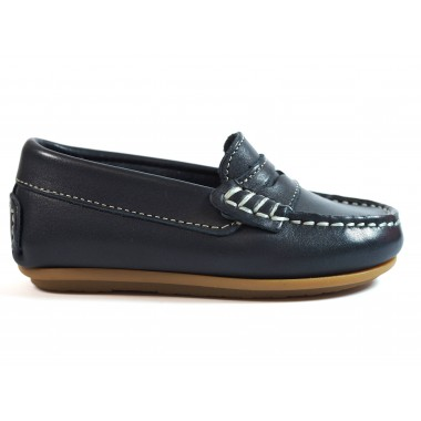 Zapatos Niños La Valenciana 1017 Marino
