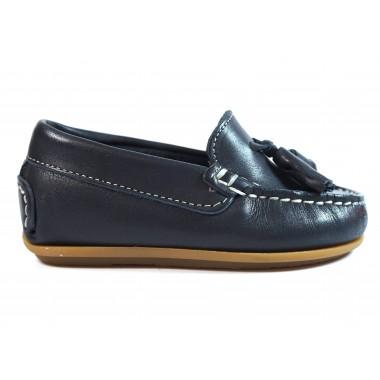 Zapatos Niños La Valenciana 1014 Marino
