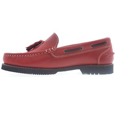 Zapatos Apache La Valenciana Montijo Rojo