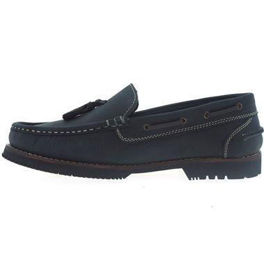 Zapatos Apache La Valenciana Montijo Azul