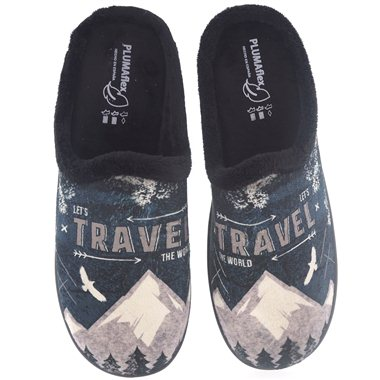Zapatillas de Casa Roal 12229 Negro