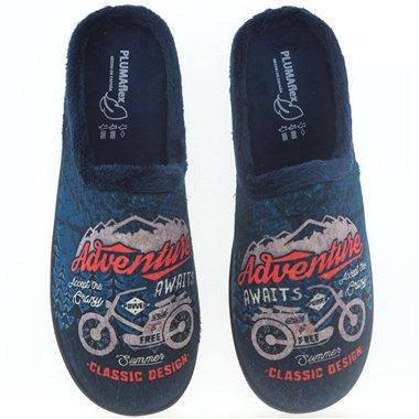 Zapatillas De Casa Roal 12229 Moto Marino