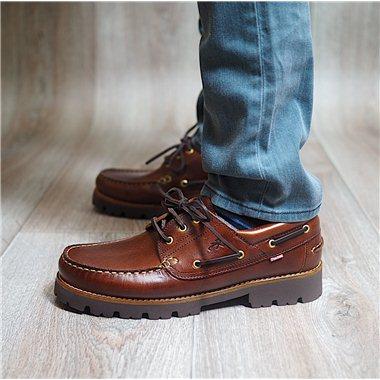 Zapatos Fluchos F0046 Castaño