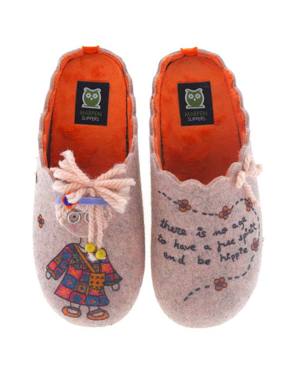 Zapatillas de Casa Marpen Slippers Hippie