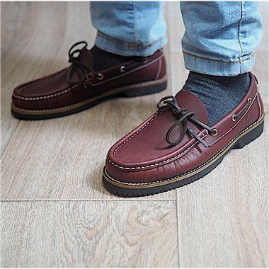 Zapatos Náuticos Fluchos 156 Burdeos