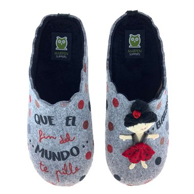 Zapatillas de Casa Marpen Slippers Flamenca