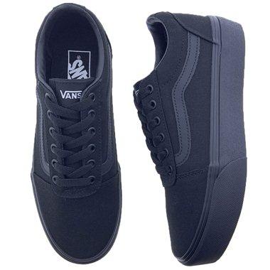 Zapatillas Vans Ward Platform VN0A3TOC1861 Negro