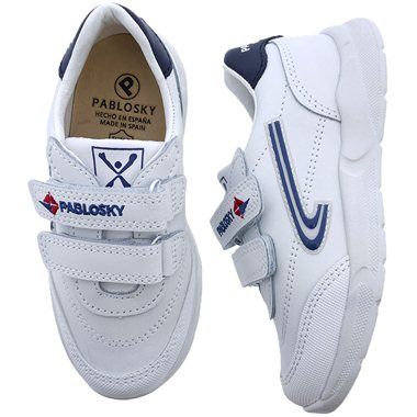 Zapatillas Pablosky 278102 Blanco-Marino