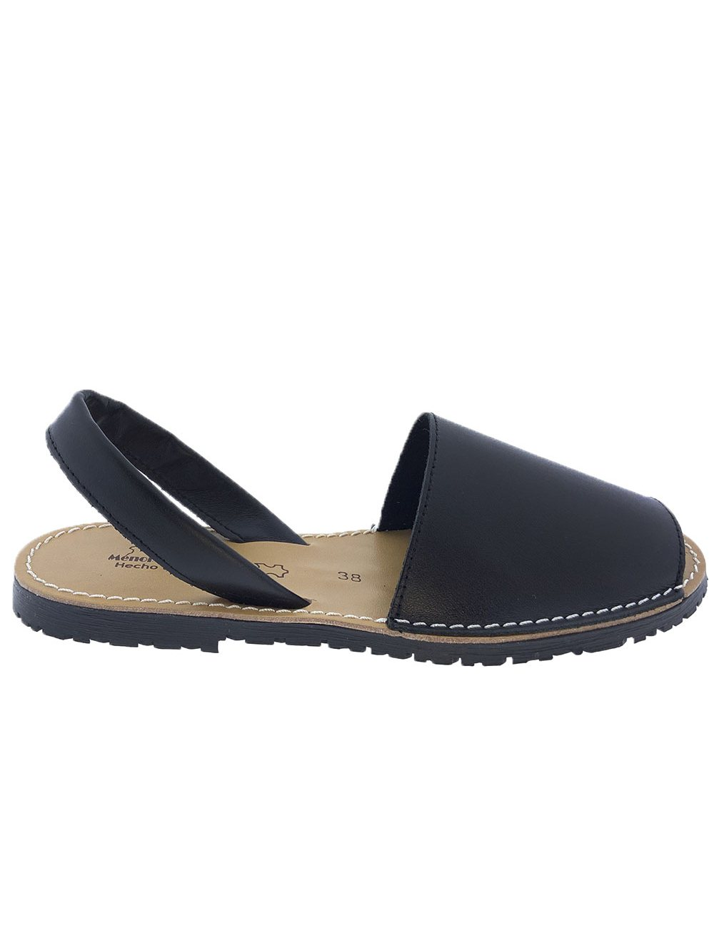 Sandalias Menorquinas Negro