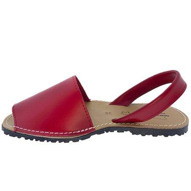 Sandalias Menorquinas Rojo