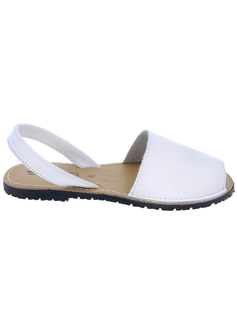 Sandalias Menorquinas Blanco