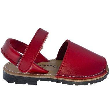 Sandalias Menorquinas 551 Rojo