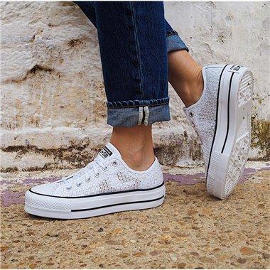 Zapatillas Converse 570792C Blanco/Beig
