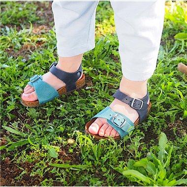 Sandalias Interbios Niño 7148 Jeans-Marino