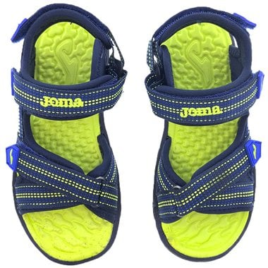 Chanclas Joma Wave Jr 2103 Navy Green Fluor