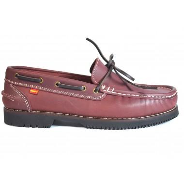 Zapatos Apache La Valenciana Olivenza Burdeos