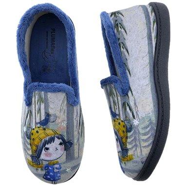 Zapatillas De Casa Roal 12215 Niña Bosque