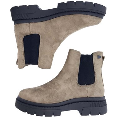 Botines Chelsea Mustang Taupe