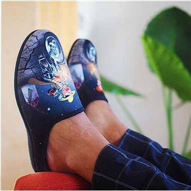 Zapatillas de Casa Rodevil 540 Quijote Negro