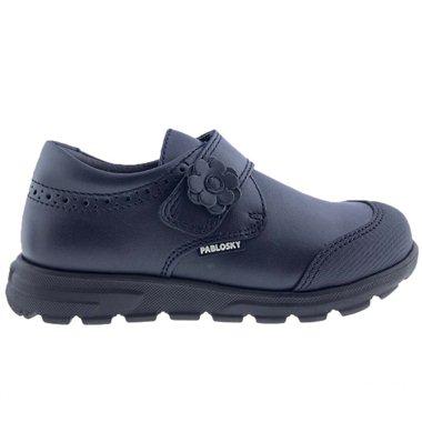 Zapatos Colegial Pablosky 334620 Marino