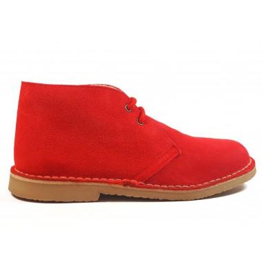Botas Pisamierdas Rojo Borreguito