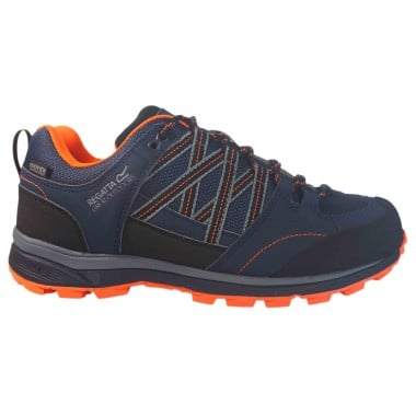 Zapatillas Impermeables Regatta Samaris Low Marino-Naranja