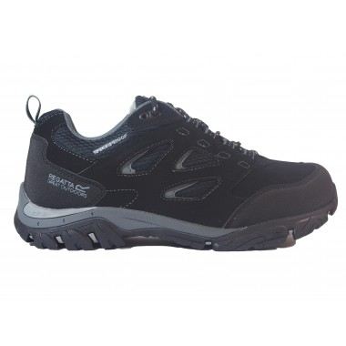 Zapatillas Impermeables Regatta Holcombe Low Negro