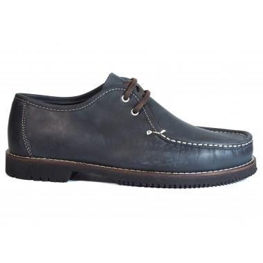 Zapatos Línea Apache Wallabee Cordón Azul