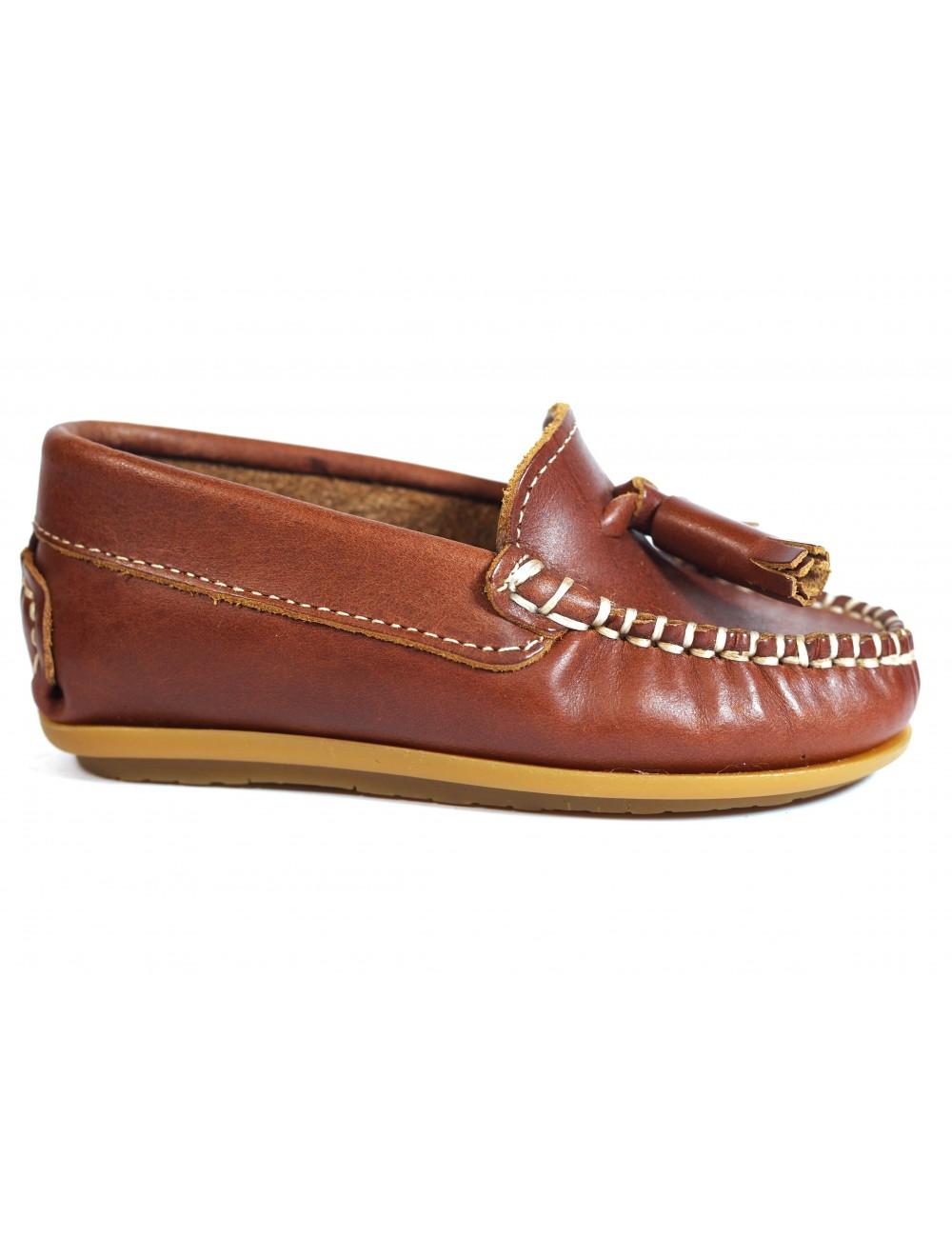 Zapatos Niños La Valenciana 024 Cuero