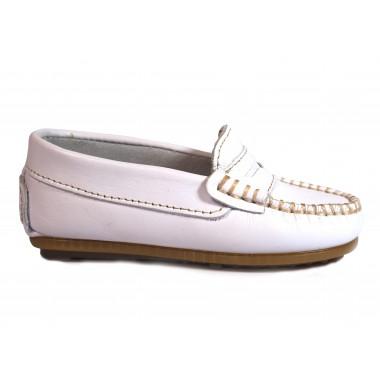 Zapatos Niños La Valenciana 045 Blanco