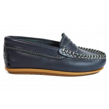 Zapatos Niños La Valenciana 045 Marino