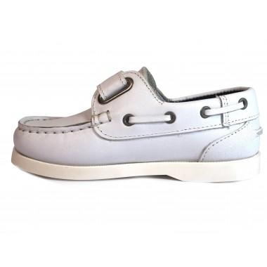 Zapatos Niños La Valenciana 020 Blanco