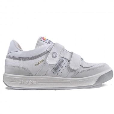 Zapatillas J´hayber Olimpia Blanco-Gris