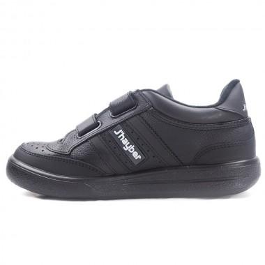 Zapatillas J´hayber Olimpia Negro-Blanco