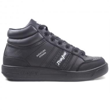 Zapatillas J´hayber Aventura Atenas Negro-Blanco