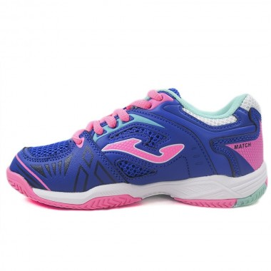 Zapatillas Joma Match Jr 810 Marino-Fucsia