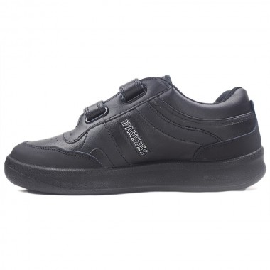 Zapatillas Paredes Estrella Negro Velcro